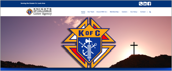knights of columbus website project img